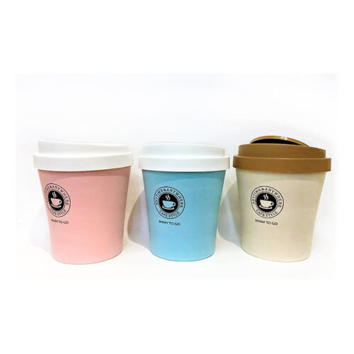 פח בצורת כוס קפה TA גדול שלושה צבעים