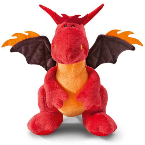 בובת NICI דרקון אש יושב